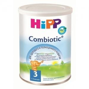 """""""HiPP Combiotic BIO 3"""" сухая частично адаптированная молочная смесь с 10 месяцев 350 г."""