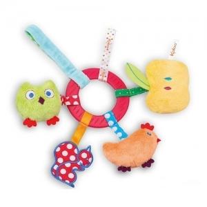 Kaloo мягкая игрушка КУРОЧКА развивающая погремушка K963329