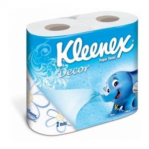 "Kleenex Decor ""Choose a size""   Бумажные кухонные полотенца 2шт."