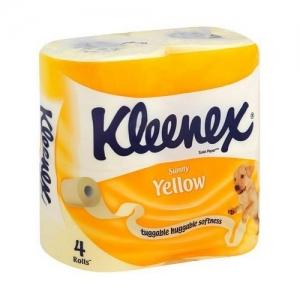 Kleenex Yellow  Бумага туалетная 4 шт.