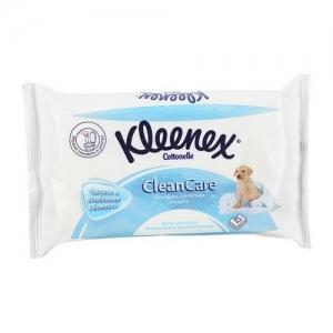 Kleenex  Aloe Vera Бумага туалетная влажная в сменный блок 42 листа