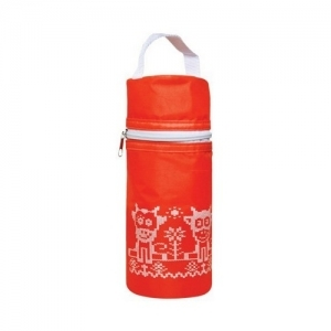 "LUBBY Сумка - Термоконтейнер для бутылочки ""Твердый"" 0+ мес, пенопласт 13686"
