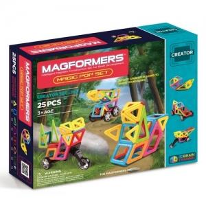 """MAGFORMERS Магнитный конструктор """"Magic Pop Set 25"""" 703005"""
