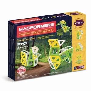 """MAGFORMERS Магнитный конструктор """"My First World Set 32"""" 702009"""