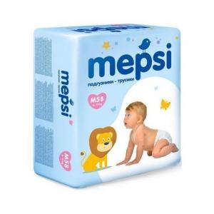 """Mepsi"" M Трусики-подгузники (6-11 кг.) 58 шт."
