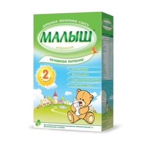 """""""МАЛЫШ Истринский 2""""  молочная смесь с 6 месяцев 350 г."""
