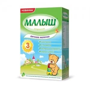 """""""МАЛЫШ Истринский 3""""  молочко с 12 месяцев 350 г."""