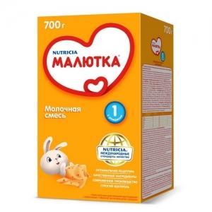"""""""МАЛЮТКА 1"""" молочная смесь с рождения 600 г."""