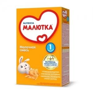 """""""МАЛЮТКА 1""""  молочная смесь с рождения 300 г."""