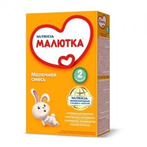 """МАЛЮТКА 2""  молочная смесь с 6 месяцев 300 г."