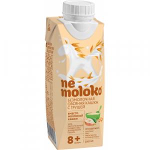 """Nemoloko"" каша безмолочная Овсяная кашка с Грушей с 8 месяцев 250 мл."