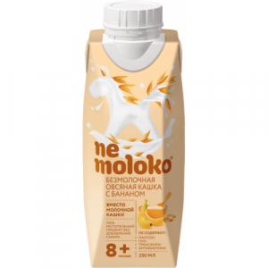 """Nemoloko"" каша безмолочная Овсяная кашка с Бананом с 8 месяцев 250 мл."