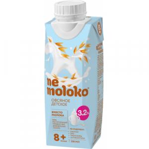 """""""Nemoloko"""" Овсяное Детское 3,2 % с 8 месяцев 250 мл."""