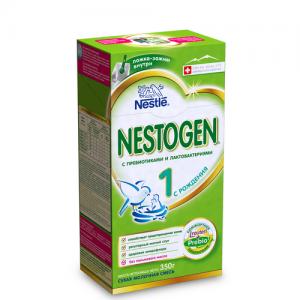 """""""NESTOGEN 1"""" Nestle 350 г. сухая молочная смесь с пребиотиками с рождения."""