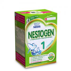 """""""NESTOGEN 1"""" сухая адаптированная молочная смесь с пребиотиками с рождения. 700 г. (2*350 г.)"""