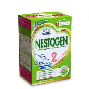 """""""NESTOGEN 2"""" 700 г. (2*350 г.) сухая молочная смесь с пребиотиками с 6 месяцев"""