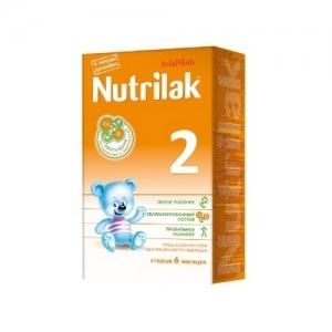 """Nutrilak 2"" Молочная смесь с 6 месяцев 350 г."