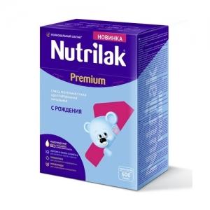 """""""Nutrilak Premium 1"""" детская смесь с рождения 600 г."""