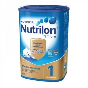 """""""Nutrilon 1"""" сухая Молочная смесь с Рождения 800 г."""