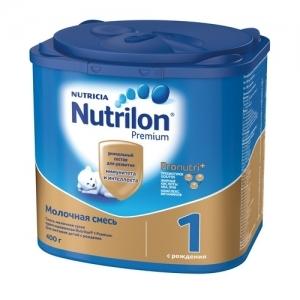 """""""Nutrilon 1"""" сухая молочная смесь для здоровых детей с рождения до 6 месяцев 400 г."""