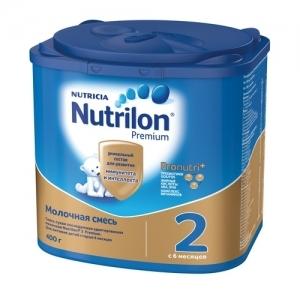 """""""Nutrilon 2"""" сухая молочная смесь для здоровых детей с 6 месяцев 400 г."""