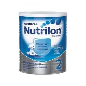 """""""Nutrilon COMFORT 2"""" сухая смесь для здоровых детей с 6 месяцев 400 г."""