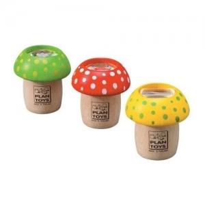 PLAN TOYS Деревянная игрушка Калейдоскоп-грибок 4317