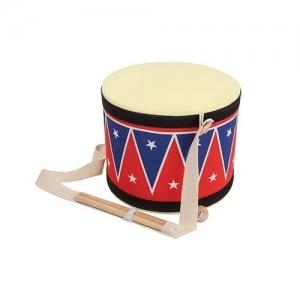 PLAN TOYS Деревянная игрушка Большой барабан 6412