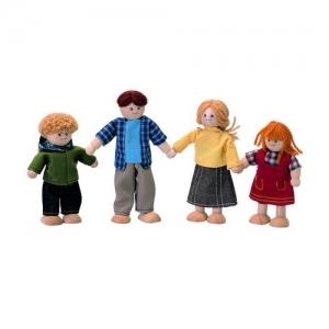 PLAN TOYS Деревянная игрушка Кукольная семья 7415