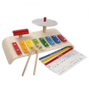 PLAN TOYS Деревянная игрушка Музыкальный центр 6422