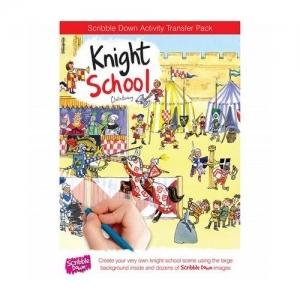 Scribble Down Школа рыцарей SD0010