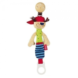 Sigikid Мягкая игрушка-держатель для пустышки Кукла-пират 40118