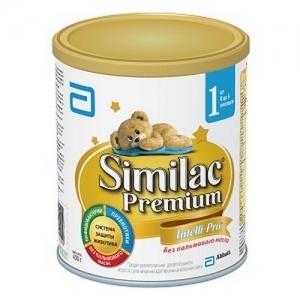 """""""Similac Premium 1"""" 900 г. сухая молочная смесь с Рождения до 6 месяцев"""