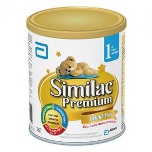 """""""Similac Premium 1"""" 400 г. сухая молочная смесь с Рождения до 6 месяцев"""