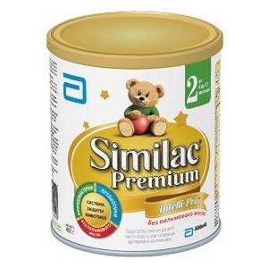 """Similac Premium 2"" 400 г. сухая молочная смесь с 6 месяцев"