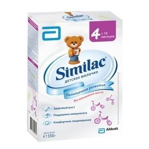 """""""Similac 4"""" сухой молочный напиток 350 г."""