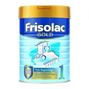 Frisolac GOLD 1 молочная смесь  с Рождения до 6 месяцев 400 г.