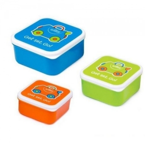 TRUNKI контейнеры для еды 3 шт голубой  0299-GB01