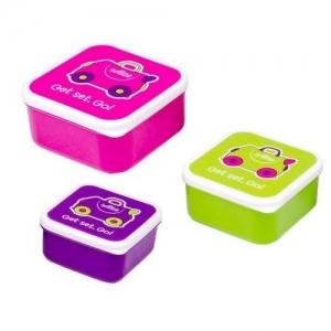 TRUNKI контейнеры для еды 3 шт розовый  0300-GB01