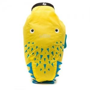 TRUNKI Рюкзак для бассейна и пляжа, желтый Рыба-Пузырь 0111-GB01
