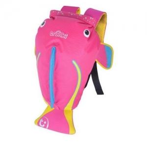 TRUNKI Рюкзак для бассейна и пляжа Коралловая рыбка, розовый  0250-GB01