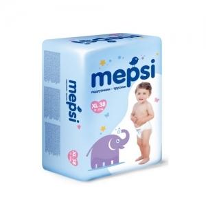"""Mepsi"" XL Трусики-подгузники  (12-22 кг.) 38 шт."