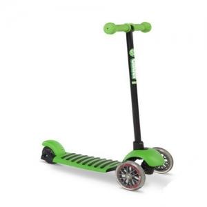 Yvolution Самокат Glider Deluxe зеленый