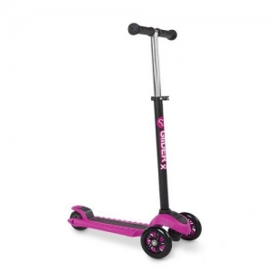 Yvolution Самокат Glider XL  розовый