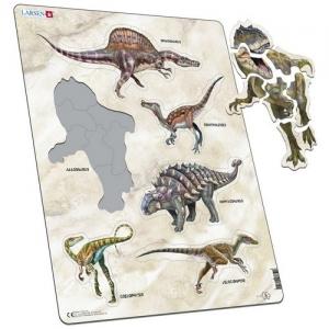 "LARSEN Пазл ""Динозавры"" Х-12"