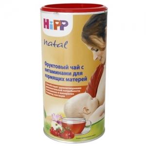 """чай """"HiPP"""" для Кормящих матерей Фруктовый для повышения лактации 200 г."""