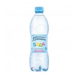 """""""Бабушкино лукошко"""" Вода 0,5 литра"""