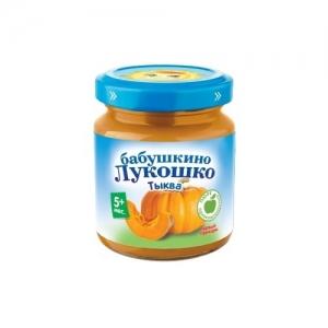 """""""Бабушкино лукошко"""" Пюре 100 г. Тыква с 5 месяцев"""