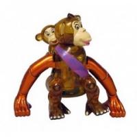 70106 Z Wind Ups Игрушка-заводилка Мама обезьяна и малыш
