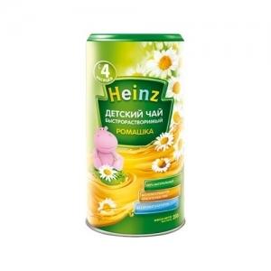 """""""Heinz""""  Чай быстрорастворимый порционный Ромашка с 4 месяцев 200 г."""